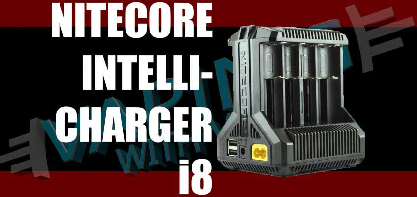Nitecore Intellicharger i8 Review – Yup… it a charger…