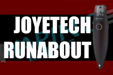 Joyetech Runabout Review – Pointy bit is…pointy…