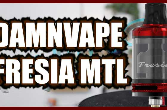 DamnVape Fresia MTL RTA Review – DamnVape crack the dual airflow problem?
