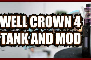 UWell Crown 4 Tank and Crown 4 Mod Review – UWell's Checkmate to the stock coil industry
