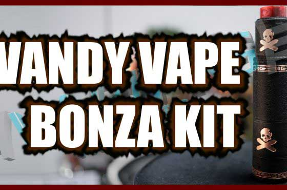 Vandy Vape Bonza Mech Kit Review – ….g'day…