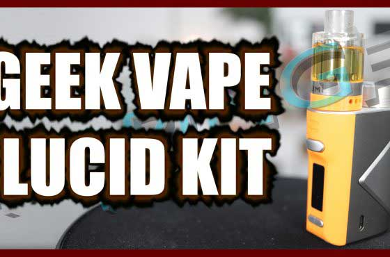 Geek Vape Lucid Kit Review – …with a disposable tank