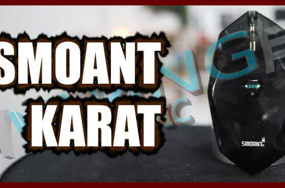 Quit Smoking Wednesday – Smoant Karat Review