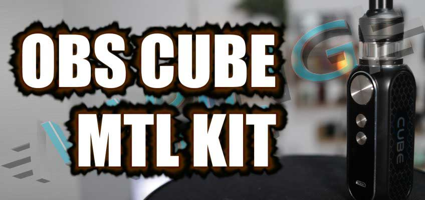 OBS Cube MTL Kit Review – The Cube goes MTL