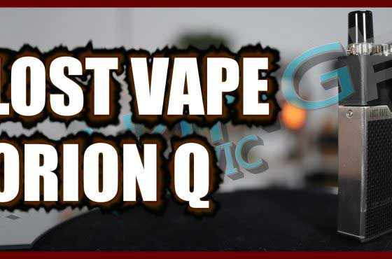 Lost Vape Orion Q Review – The start of the Quest range