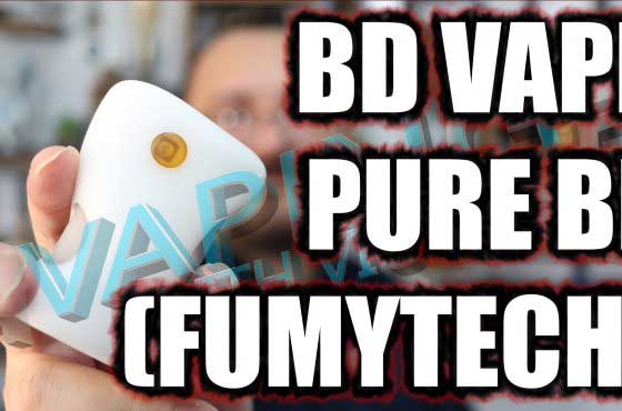BD Vape Pure BF (Fumytech) Review – Fumy enter the high end…