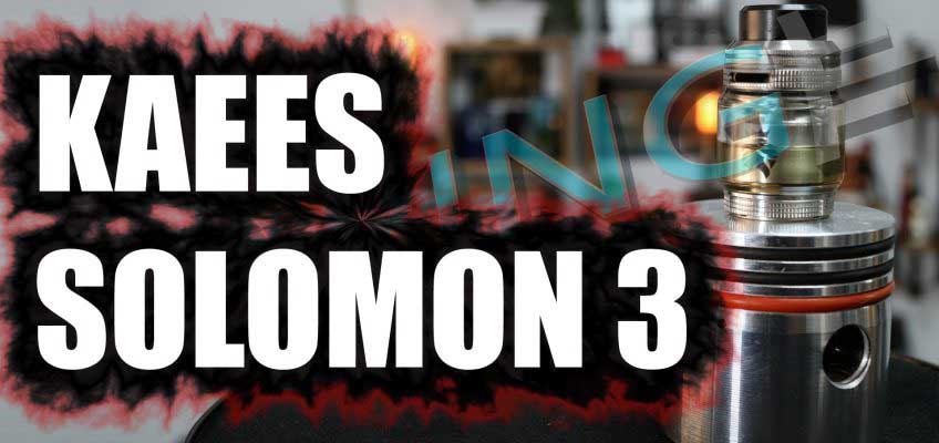 Kaees Solomon 3 Review – Gotta plug that gap…