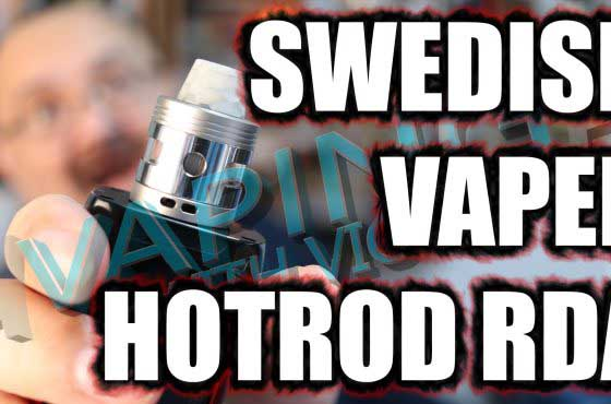 Swedish Vaper HotRod V10 RDA Review – ….its all about those windows…