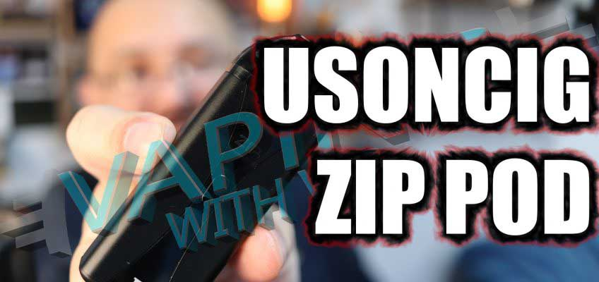 USONcig Zip Pod Kit Review – Ultrasonic in a pod…