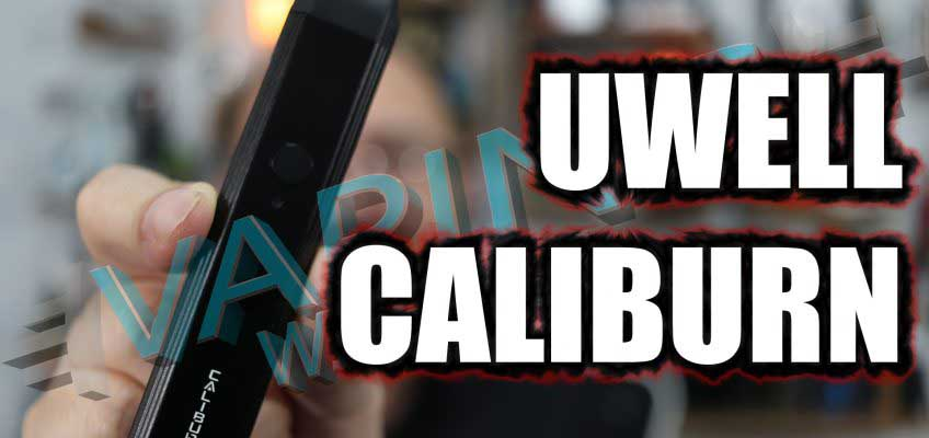 UWell Caliburn Review – A pod for high VG juice?