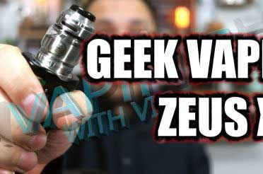 Geek Vape Zeus X Review – Geek Vape crack top airflow?