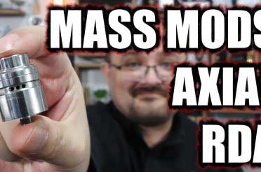 Mass Mods / Unicorn Vapes Axial RDA Review – 23mm of flavour…