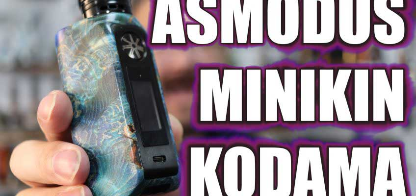 Admodus Minikin 2 Kodama Review – The Minikin 2 in a stab wood shell