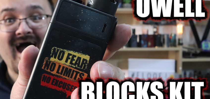 UWell Blocks Kit Review – UWells pump action squonker