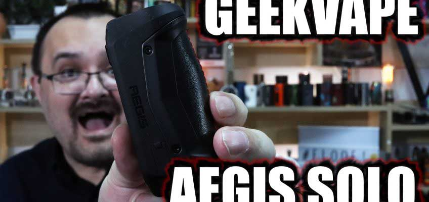 Geek Vape Aegis Solo Review – The third in the Aegis line