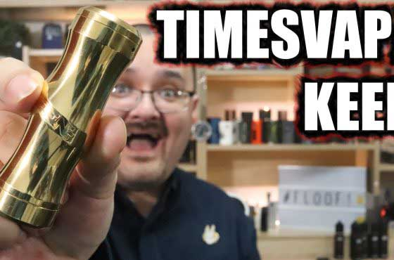 Timesvape Keen Mech Review – The next mech from Stan TenaciousTXVapes