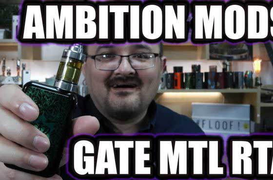 Ambition Mods Gate MTL RTA Review – A contender against the True Tank?