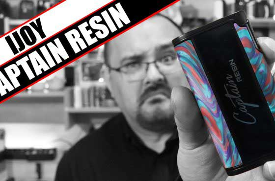 A year old mod, re-released? – iJoy Captain Resin Review