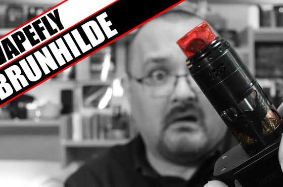 It's a tall one – VapeFly / German 103 Team Brunhilde RDTA
