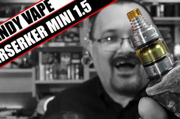 They made the 1.5 even smaller?! – Vandy Vape Berserker 1.5 Mini Review