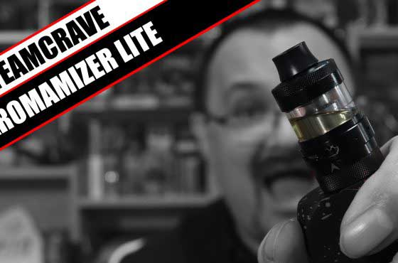 SteamCraves first falter? – Aromamizer Lite Review