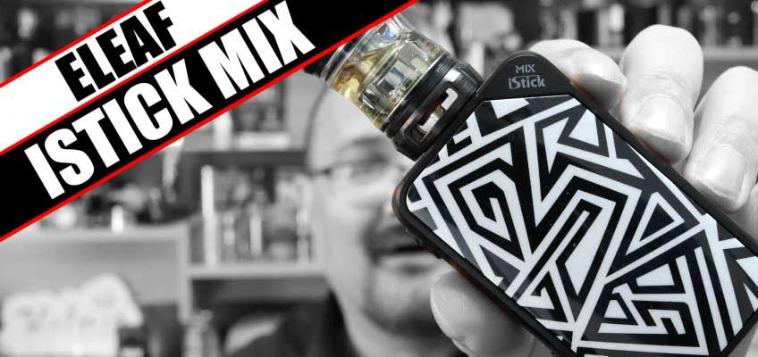 This aint one for OCD folks – eLeaf iStick Mix Review