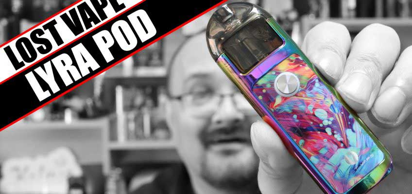 Lost Vape goes back to the AIO – Lost Vape Lyra PodMod Review