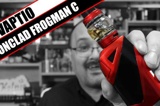 A beginner sub-ohm kit – Vaptio Ironclad Frogman C Review