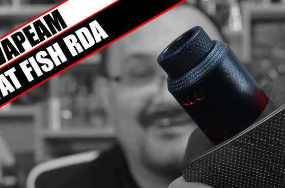It's not fat, and there's no fish – Vapeam Fat Fish RDA Review