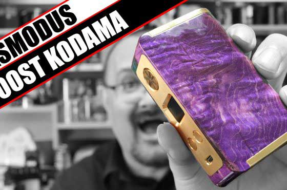 The last of the current Kodama line – Asmodus Minikin Boost Kodama Review