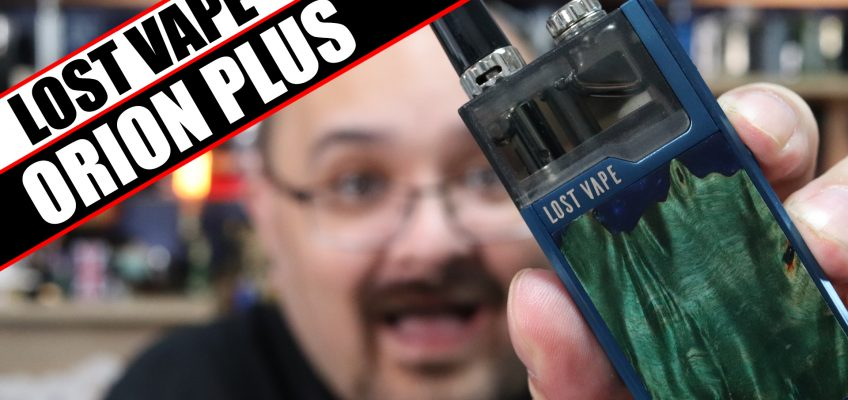 The Orion goes AIO – Lost Vape Orion Plus Review