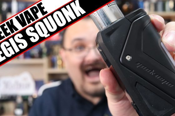 Geek Vape go top fill – Geek Vape Aegis Squonk Kit Review