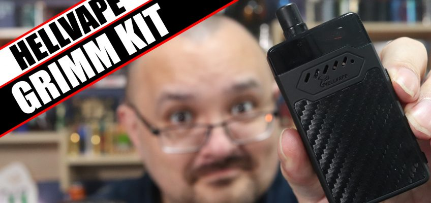Grimm and OhmBoy go into the AI…AI…AIO's – HellVape GRIMM Kit Review
