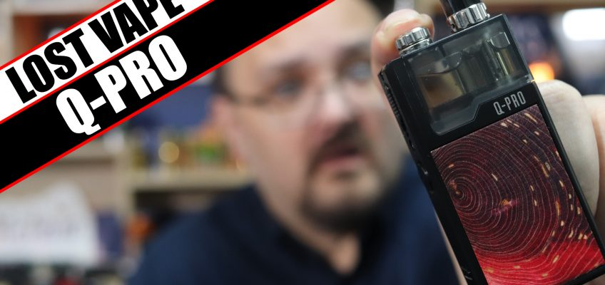 Lost Vape's secondary Orion Range – Lost Vape Q-Pro Review