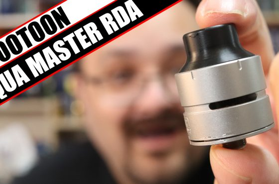 A Footoon atty thats not confusing?! – Footoon Aqua Master RDA Review