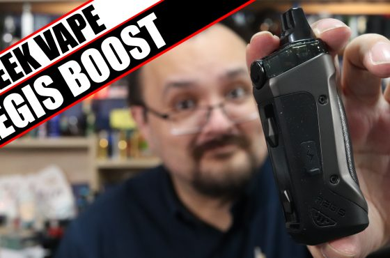 The Aegis enters the AIO arena –  Geek Vape Aegis Boost Review