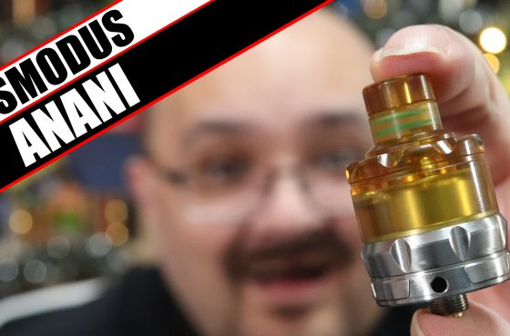 Well, thats an odd looking tank – Asmodus Anani Review