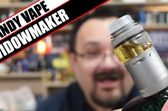 The Widowmaker in tank form – Vandy Vape and El Mono Vapador Widowmaker RTA Review