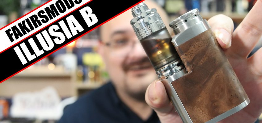 The Illusia now with a MOSFET – FakirsMods Illusia B Review