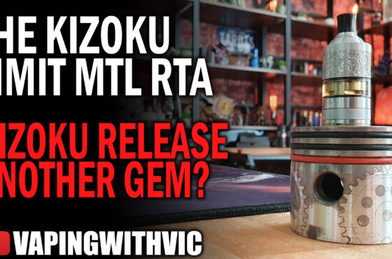 Kizoku Limit MTL RTA Renaissance Limited Edition – Long name for a good tank