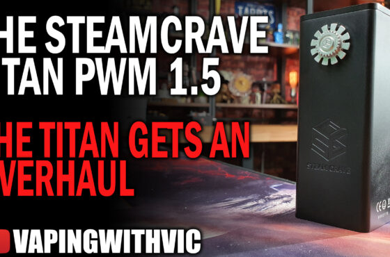 Steamcrave Titan PWM 1.5 – What's with that button?