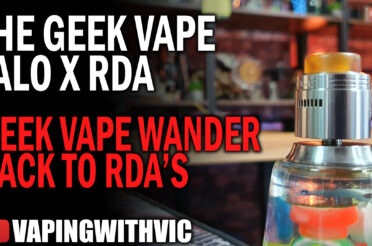 Geek Vape Talo X – Geek Vape re-enter the RDA scene