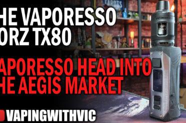 Vaporesso Forz TX80 – Vaporesso head into Aegis territory
