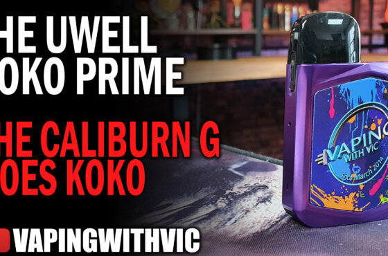 UWell Caliburn KoKo Prime – The KoKo gets its update.
