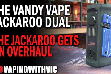 Vandy Vape Jackaroo Dual – The Jackaroo gets an extra battery