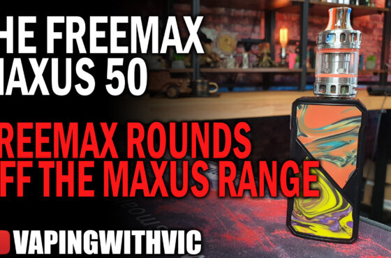 Freemax Maxus 50 – The Maxus line is rounded off