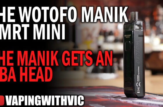 Wotofo SMRT Mini & RBA SMRT Coil – The Manik gets an RBA