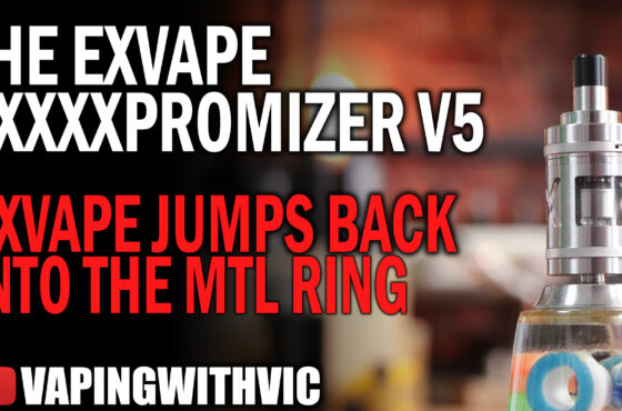 The Expromizer V5 by ExVape – ExVape throw their hat back in the MTL ring.