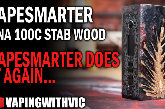 VapeSmarter UK – DNA 100C Stabilized Wood – The first Evolv 100C Stab Wood mod…