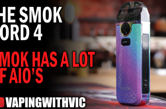 The Nord V4 by SMOK – Soooo many SMOK AIO's….